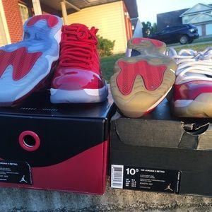 Air Jordan 11 gym red